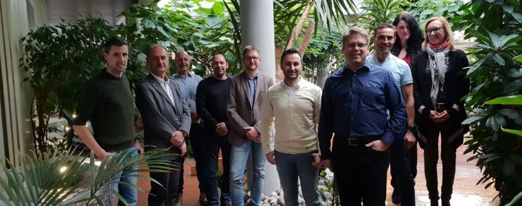 Teilnehmer des Lean Erfahrungskreises  zu Besuch bei der Firma TIGRA GmbH in Oberndorf